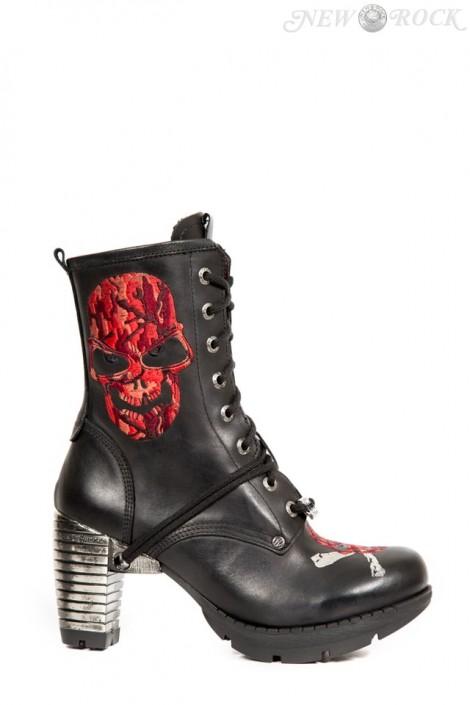 Ботинки женские на каблуке TR079-S2 (TR079-S2)