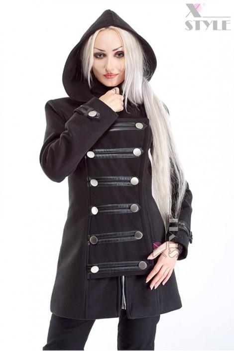 Зимнее пальто в стиле Милитари X-Style (115019)