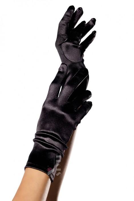 Короткие перчатки из атласа Amynetti (601144)