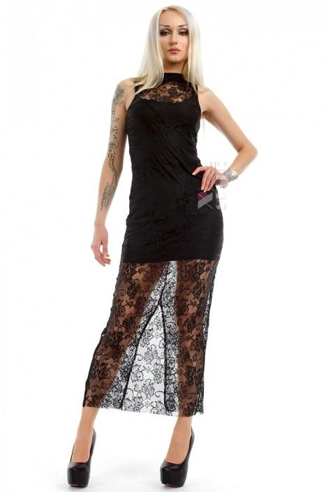 Длинное кружевное платье XC5076 (105076)