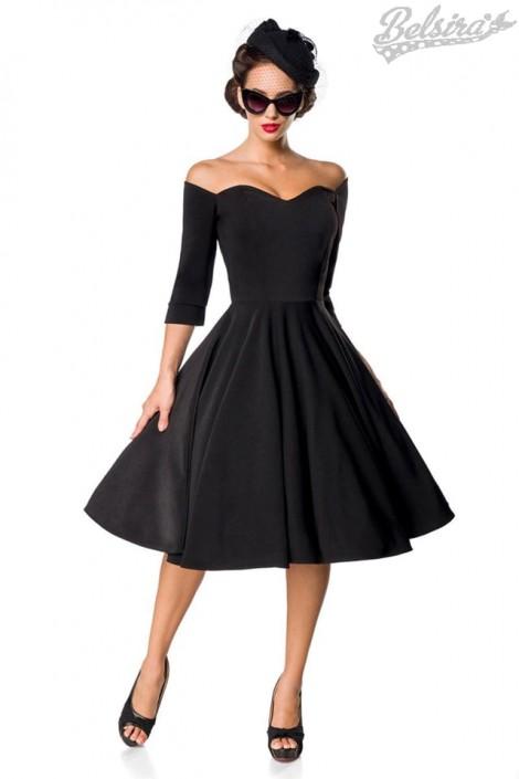 Винтажное черное платье Belsira (105389)
