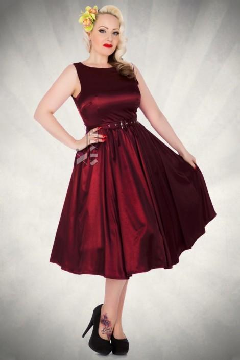 Платье в стиле Ретро с поясом XC336 (105336)