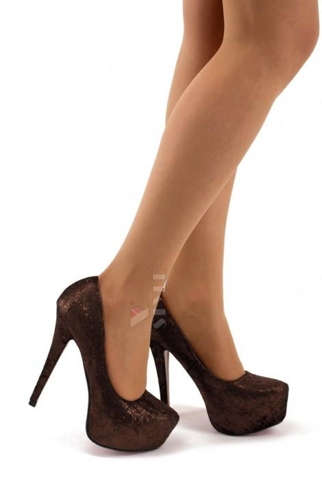 Туфли на высоком каблуке K0011 (300011)