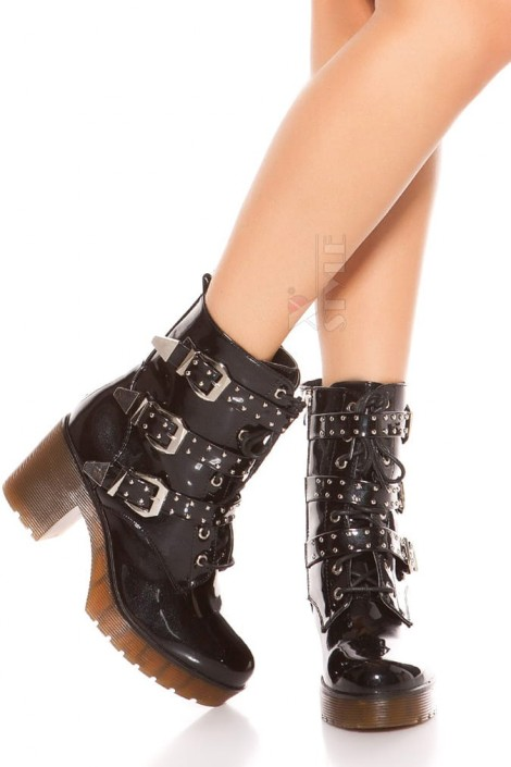 Ботинки женские с полиуретановыми подошвами MF10047 (310047)