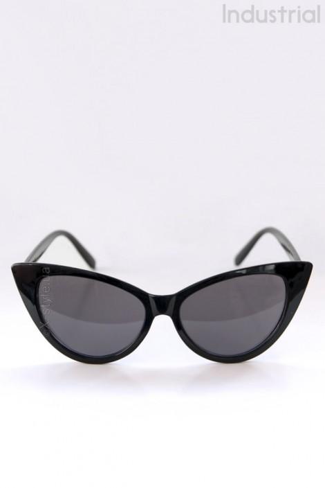 """Черные очки """"кошачий глаз"""" IN5093 (905093)"""