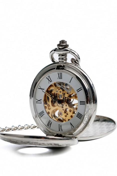 Двусторонние механические часы PRESTIGE (330053)