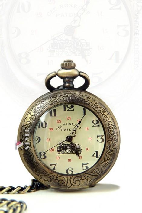 Карманные механические часы Roskopf Patent (330045)