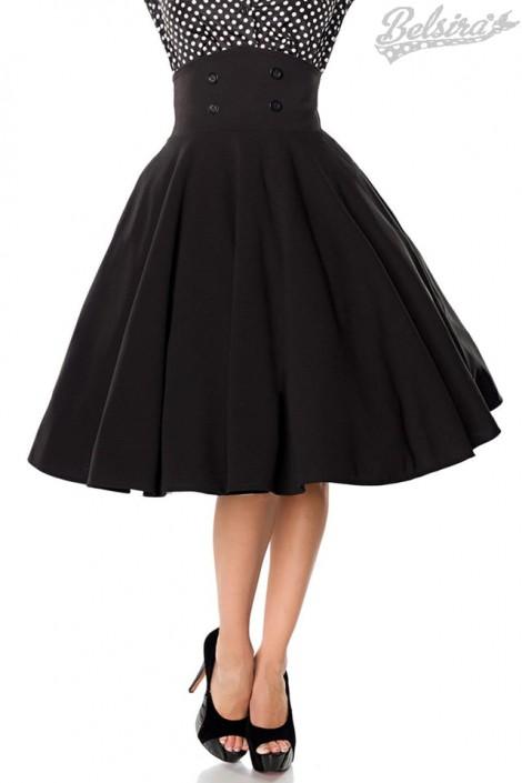Расклешенная юбка с завышенной талией Belsira (107130)