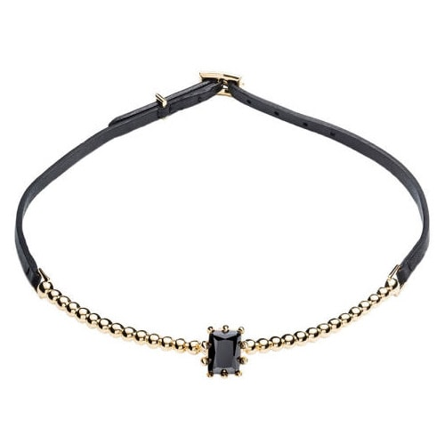 Choker with black string