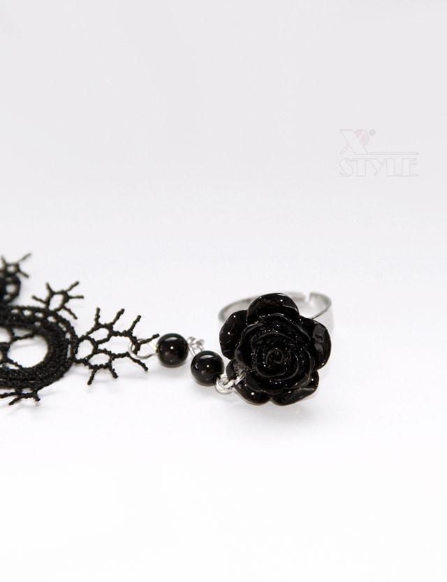 Кружевной браслет с кольцом Amynetti, 7