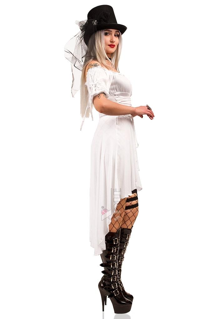 Белое пиратское платье X-Style, 5