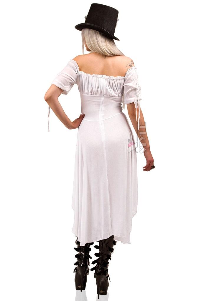 Белое пиратское платье X-Style, 3