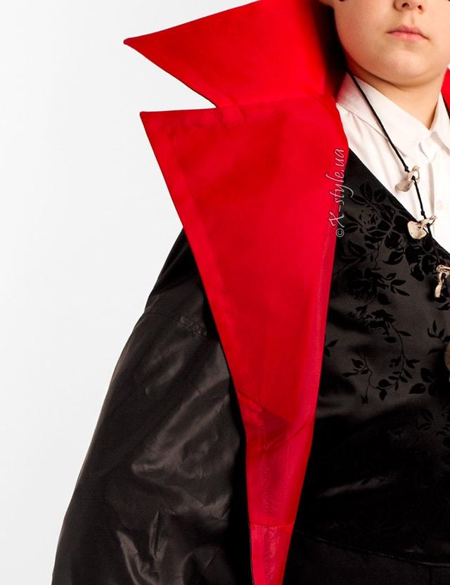 Карнавальный плащ вампира для мальчика X205, 5