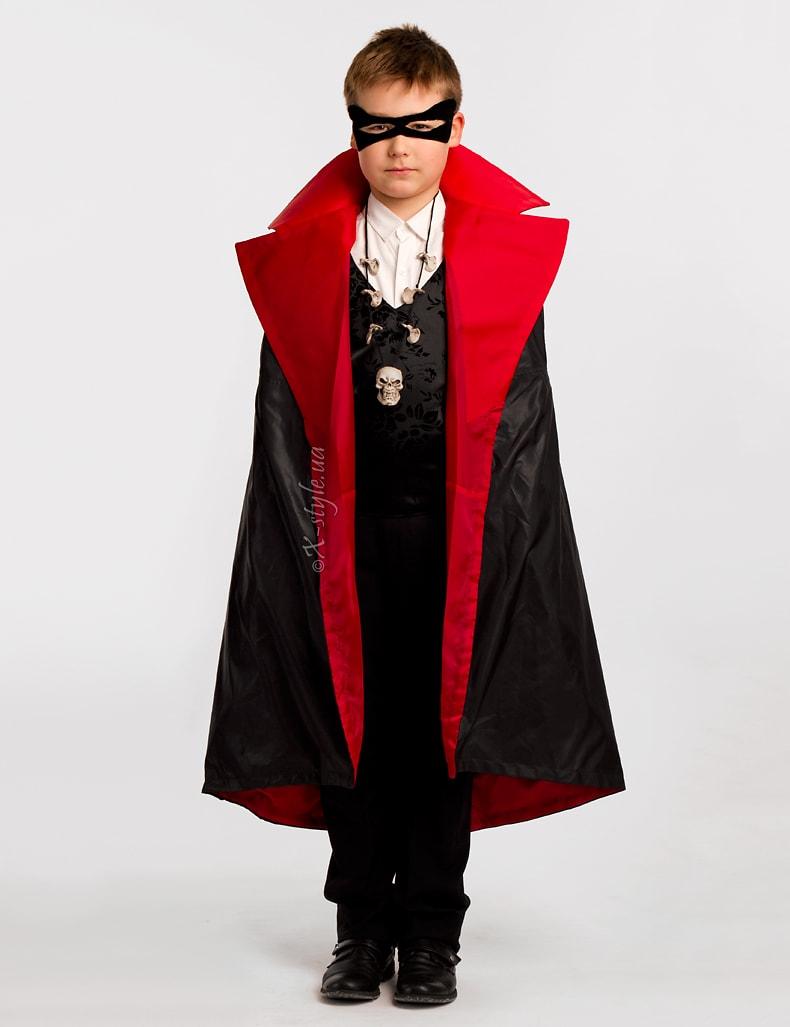 Карнавальный плащ вампира для мальчика X205, 9