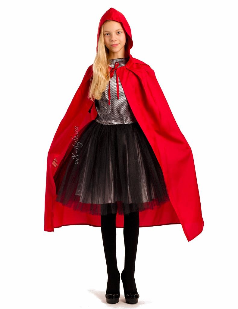Красная детская накидка X-Style, 5