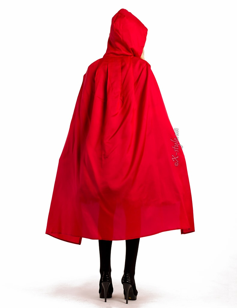 Красная детская накидка X-Style, 3