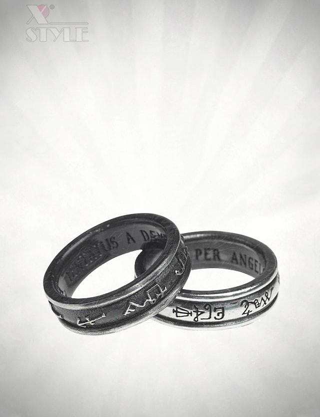 Оловянные кольца Alchemy Gothic, 11