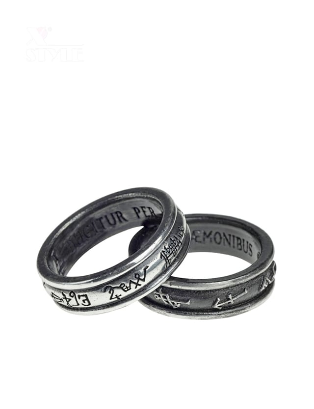 Оловянные кольца Alchemy Gothic