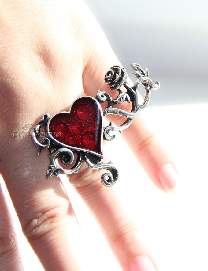 Кольцо на 2 пальца AGR180, 5