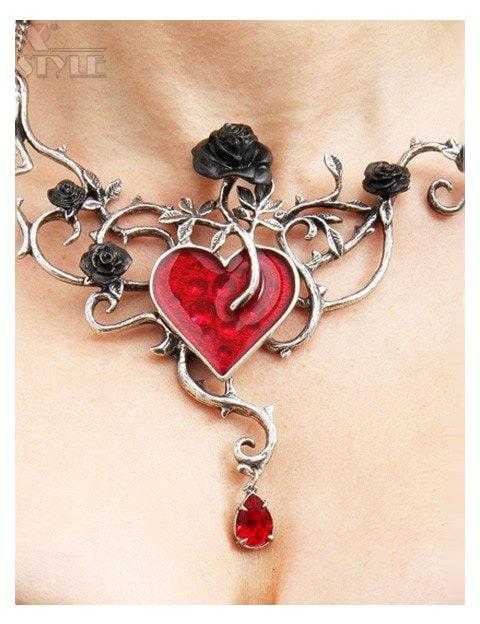 Колье Bed Of Blood Roses в подарочной упаковке, 3