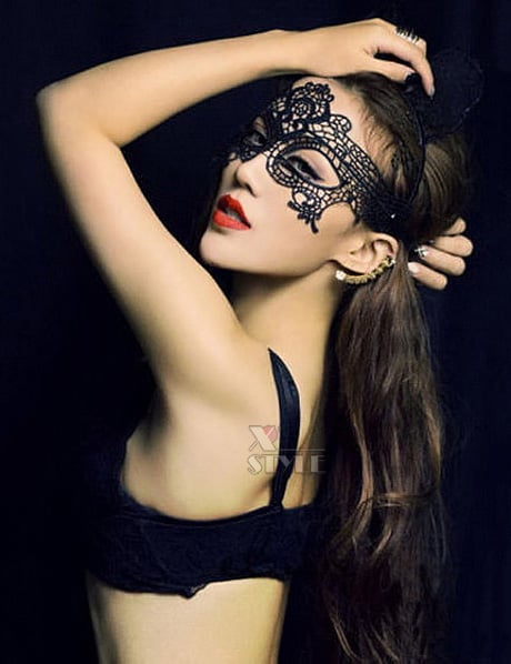 Кружевная маска, 5