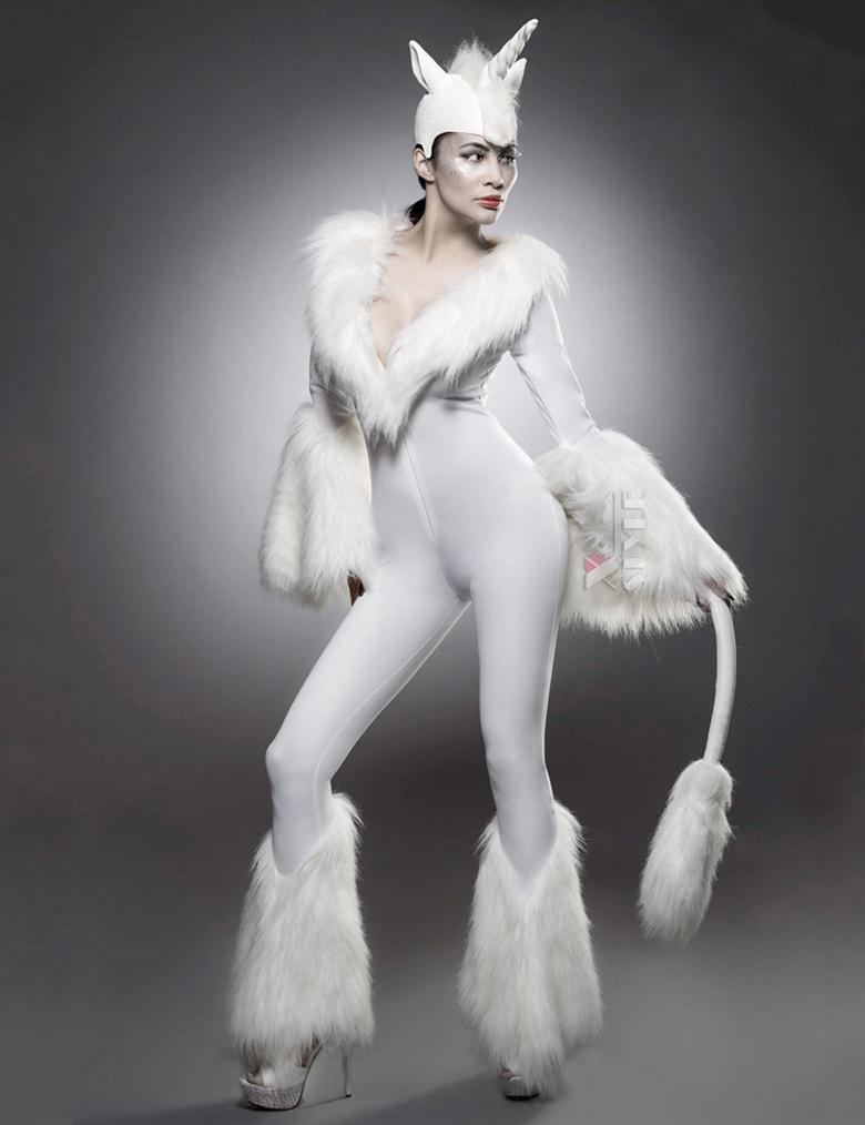 Женский костюм единорога Mask Paradise, 3