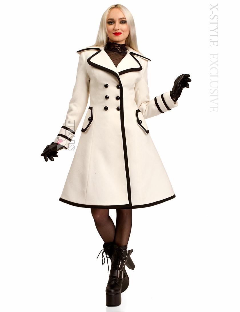Зимнее кашемировое пальто Xstyle X5059