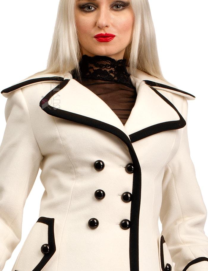 Зимнее кашемировое пальто Xstyle X5059, 3