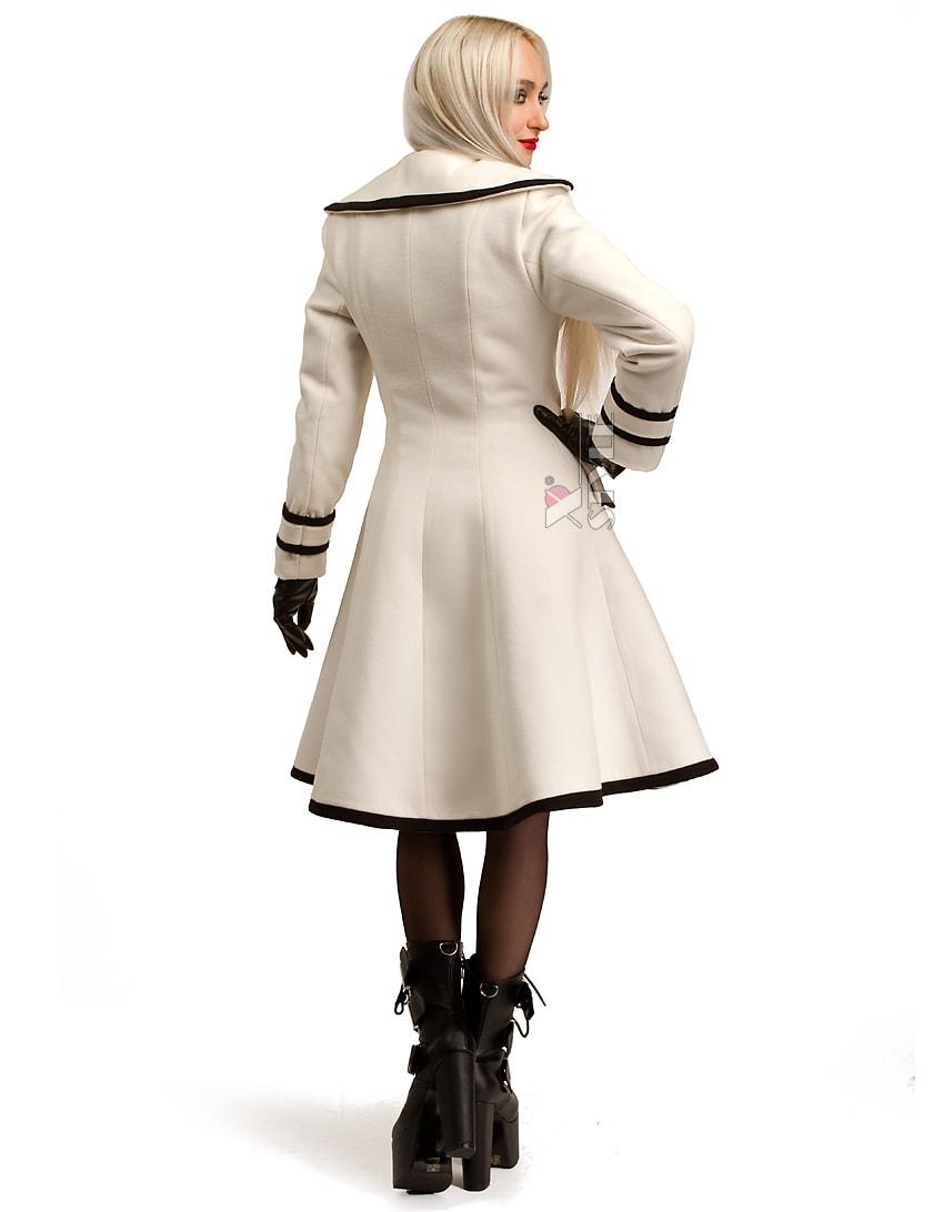 Зимнее кашемировое пальто Xstyle X5059, 5