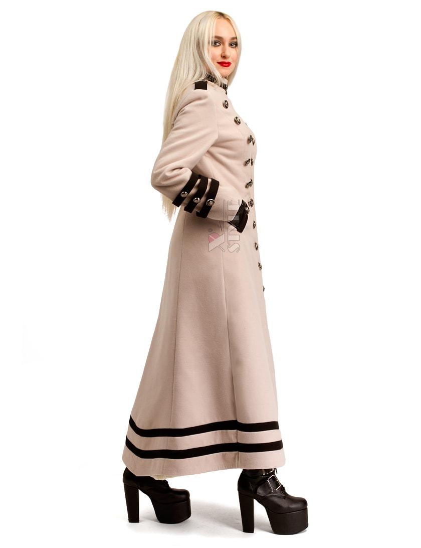 Длинное кашемировое пальто X5062, 3