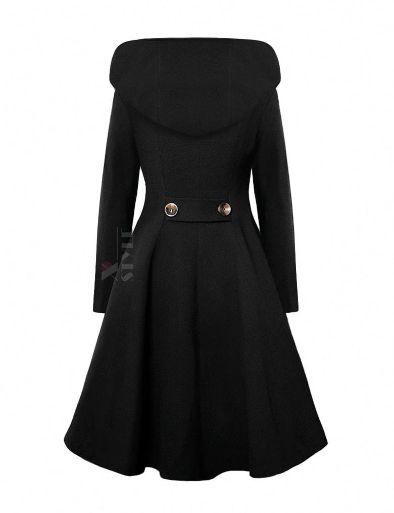 Зимнее пальто с капюшоном X15052, 3