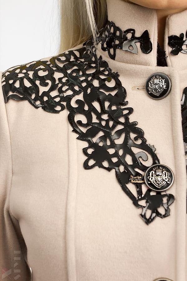 Длинное зимнее пальто женское X5057, 7
