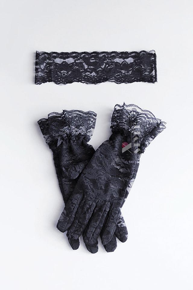 Ажурная маска и перчатки (комплект) DC2002, 3