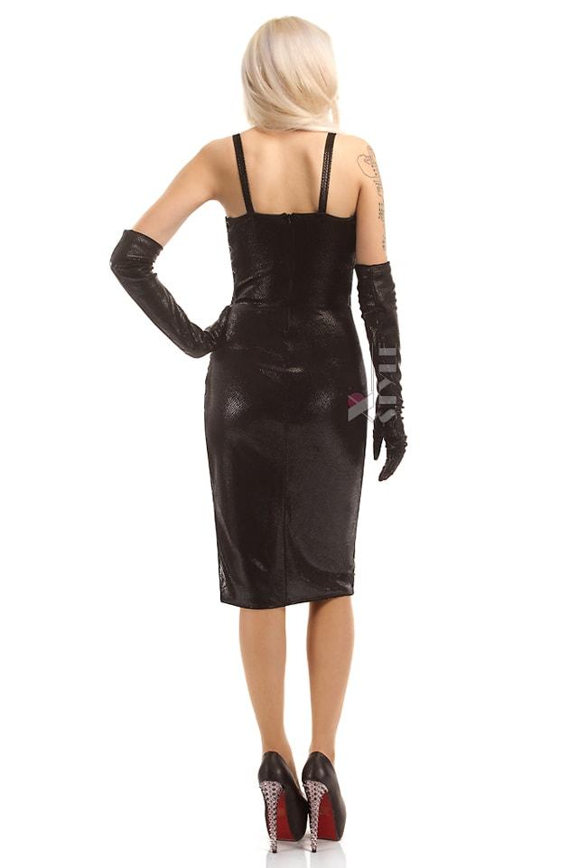 Платье миди под змеиную кожу X-Style, 3