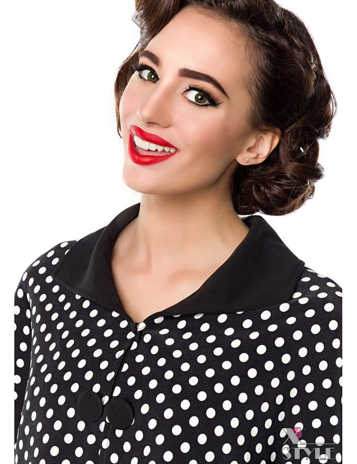 Платье в стиле 50-х с шалью, 9