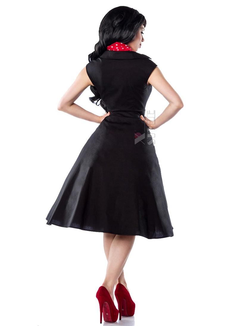 Черное платье Рокабилли AN5294, 3