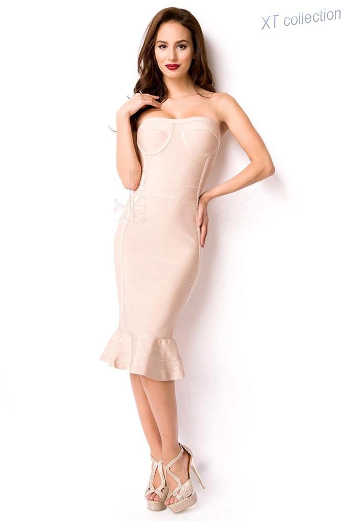 Бандажное платье XC5308