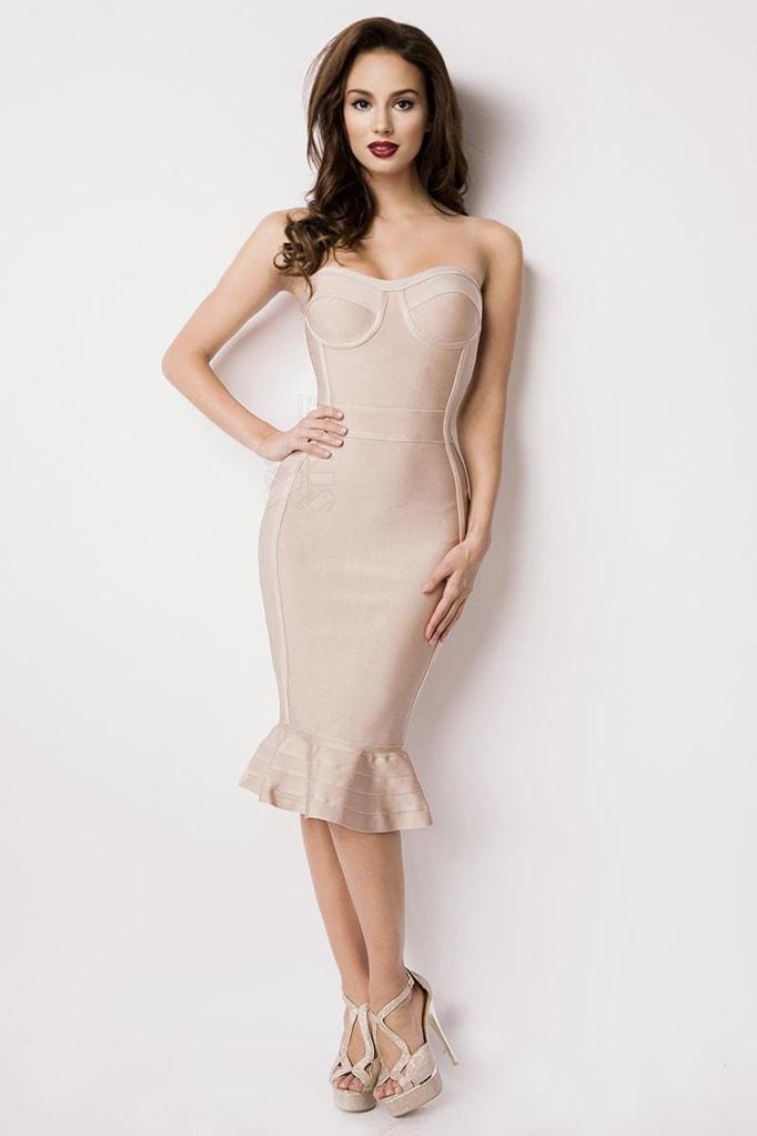 Бандажное платье XC5308, 7