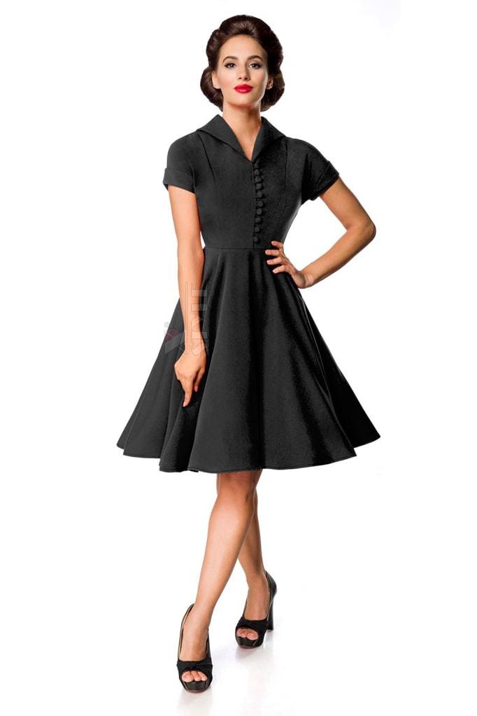 Винтажное черное платье Belsira Premium, 3