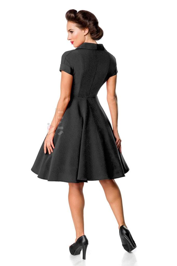 Винтажное черное платье Belsira Premium, 5