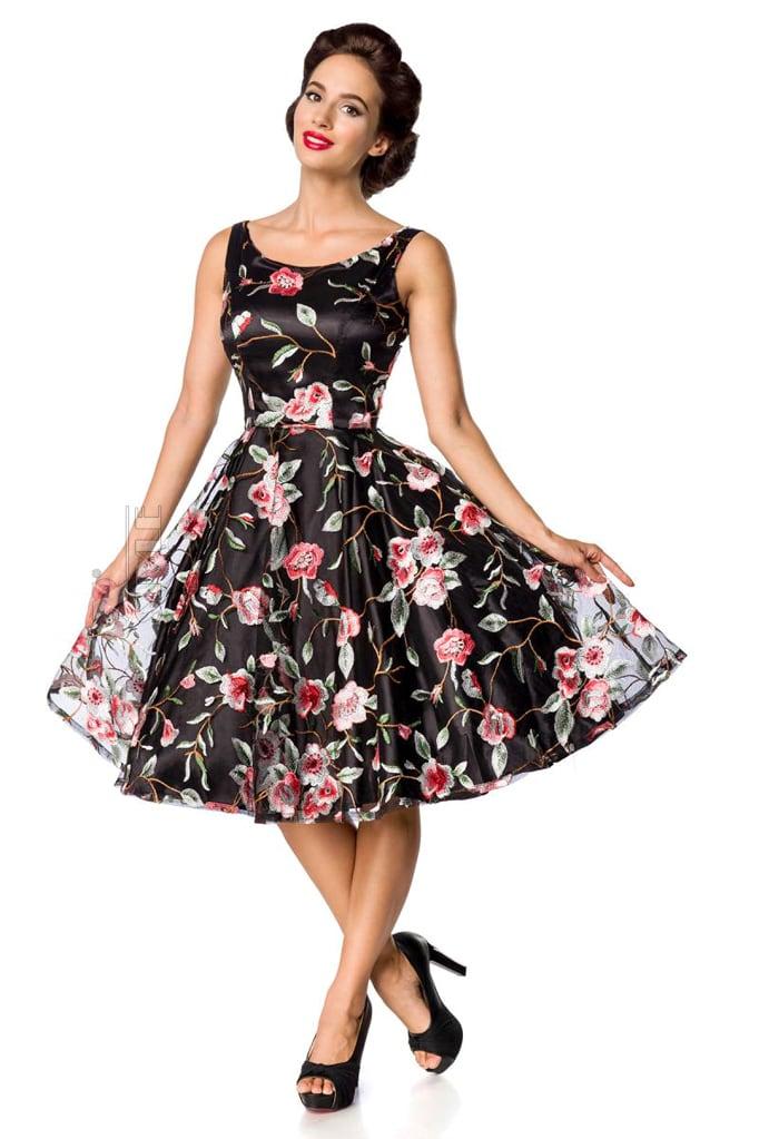 Платье Ретро с вышитыми цветами Belsira, 3