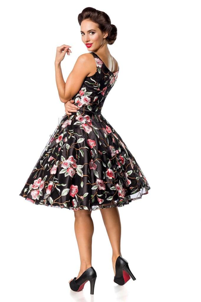 Платье Ретро с вышитыми цветами Belsira, 7