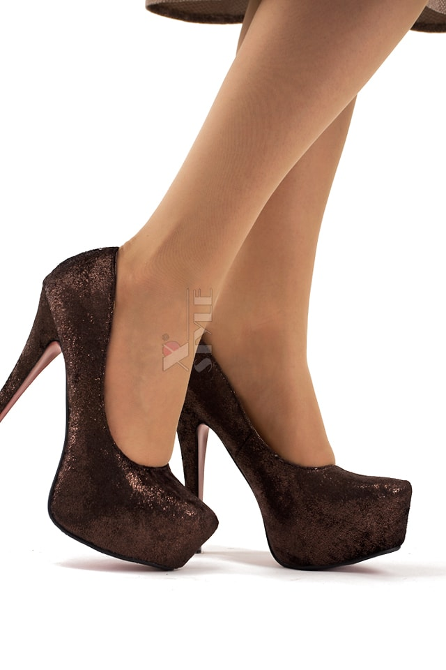 Туфли на высоком каблуке K0011, 3