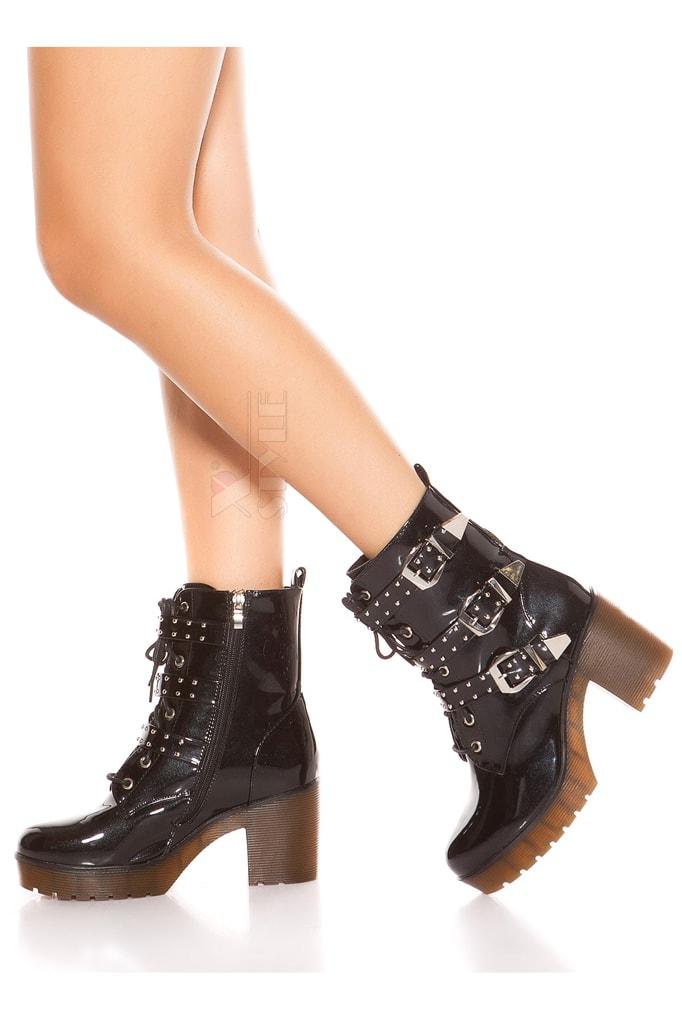 Ботинки женские с полиуретановыми подошвами MF10047, 3