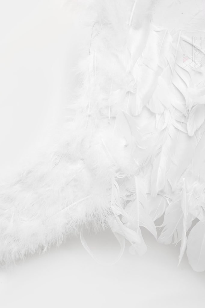 Большие крылья ангела белые (80 см) CC039, 3