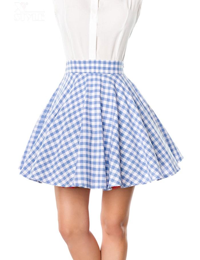 Короткая юбка солнце Belsira, 3
