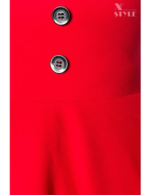 Красная юбка в стиле Ретро, 9