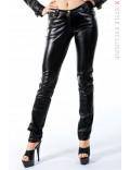Женские кожаные брюки X108020