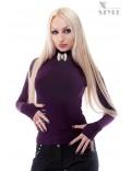 Водолазка женская со съемной брошью X-Style
