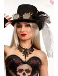 Женская шляпа Steampunk Gangster